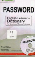 Password: english  learner's dictionary